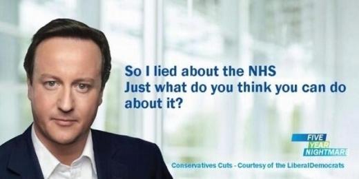 Camron NHS lies